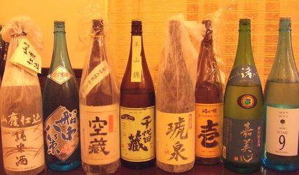 店内日本酒祭り