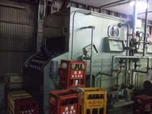 日本酒瓶の洗浄機