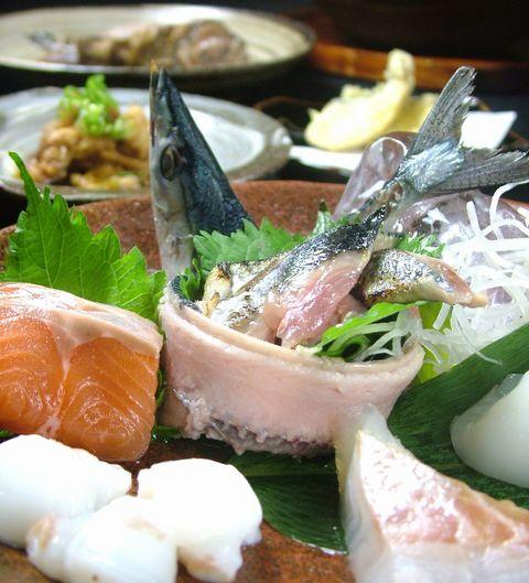 秋刀魚の造り