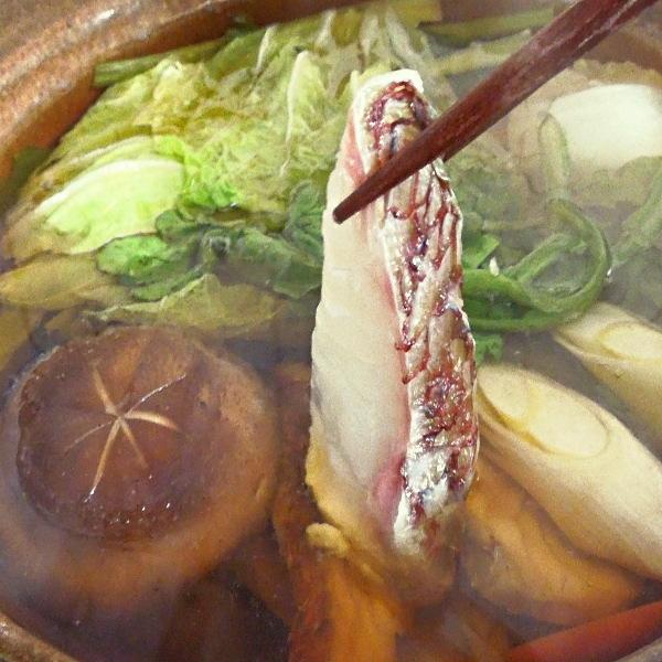鯛しゃぶ鍋セット、2月末まで販売中。